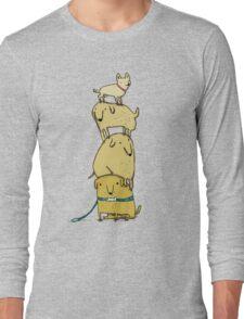 Puppy Totem Long Sleeve T-Shirt