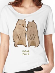 Bear Pair Women's Relaxed Fit T-Shirt