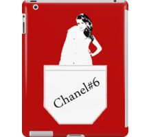 Chanel#6 RED iPad Case/Skin