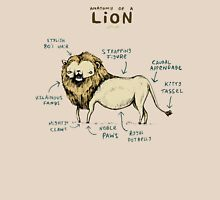 Anatomy of a Lion Unisex T-Shirt