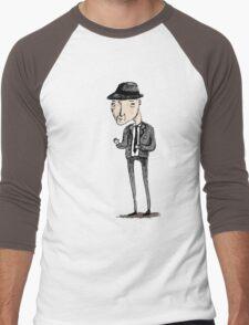Leonard Cohen Men's Baseball ¾ T-Shirt