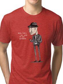 Leonard Cohen Tri-blend T-Shirt