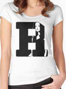 R is for River Women's Fitted Scoop T-Shirt