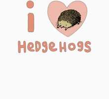 I ❤ Hedgehogs Womens Fitted T-Shirt