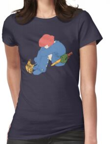 Nausicaa and Teto Womens Fitted T-Shirt