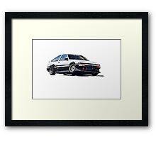 HACHI ROKU - AWESOME CAR Framed Print