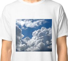 White Clouds over Gothenburg Classic T-Shirt