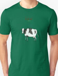 Anatomy of a Cow Unisex T-Shirt