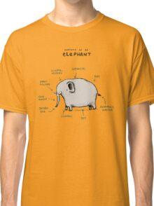 Anatomy of an Elephant Classic T-Shirt