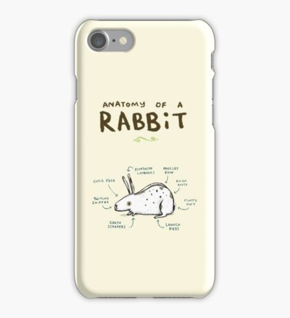 Anatomy of a Rabbit iPhone Case/Skin