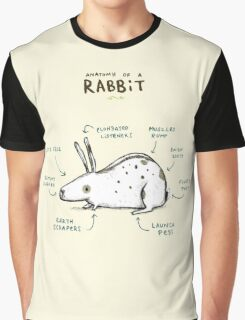 Anatomy of a Rabbit Graphic T-Shirt