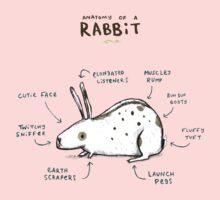 Anatomy of a Rabbit One Piece - Short Sleeve