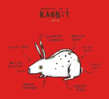 Anatomy of a Rabbit Baby Tee