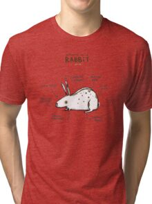 Anatomy of a Rabbit Tri-blend T-Shirt