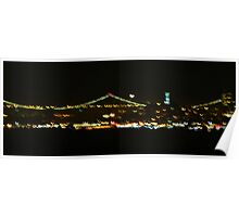 San Francisco in Crescent-Mode Poster