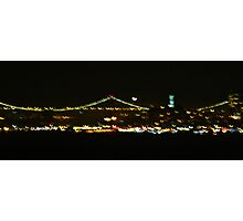 San Francisco in Crescent-Mode Photographic Print