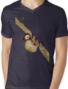 Hold Me Mens V-Neck T-Shirt
