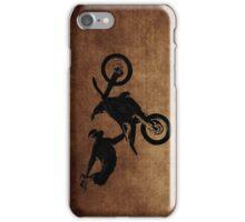 Freestyle Flying MX Motocross iPhone Case/Skin
