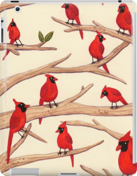 Cardinals by Sophie Corrigan