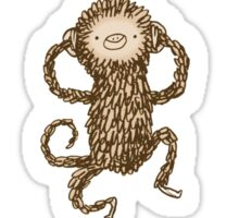 Three Wise Monkeys Sticker