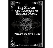 Johnathan Strange & Mr Norrell Book Design Photographic Print