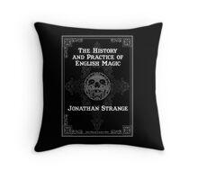 Johnathan Strange & Mr Norrell Book Design Throw Pillow