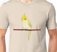 Yellow Cockatiel Unisex T-Shirt