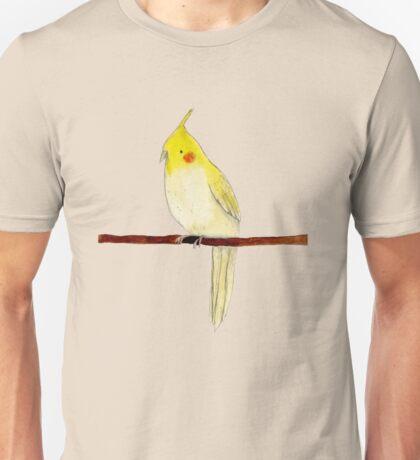 Yellow Cockatiel Unisex T-Shirt