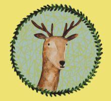Deer Portrait Kids Tee