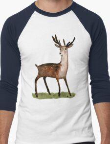 Deer in the Woods Men's Baseball ¾ T-Shirt