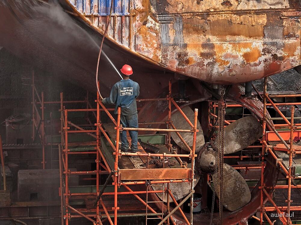 Dry-dock work by awefaul