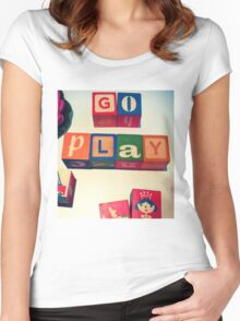 Go Play Women's Fitted Scoop T-Shirt