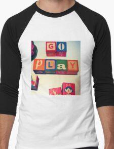 Go Play Men's Baseball ¾ T-Shirt