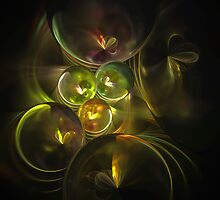Butterfly Spheres by Pam Amos