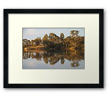River Murray Reflections #2 Framed Print