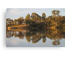 River Murray Reflections #2 Canvas Print
