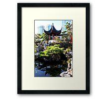 Chinese Pavillion Framed Print