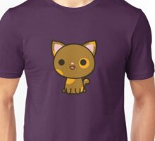 Kawaii brown and ginger cat Unisex T-Shirt