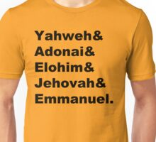 The Names of God Unisex T-Shirt