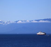 Heading for Port Angeles by Wendi Donaldson Laird