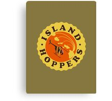 Island Hoppers /yellow Canvas Print