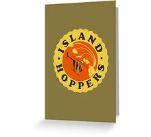 Island Hoppers /yellow Greeting Card