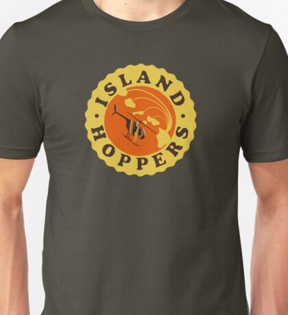 Island Hoppers /yellow Unisex T-Shirt