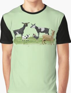 Dairy Goats Graphic T-Shirt