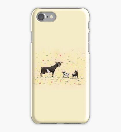 A Doe & Her Kids iPhone Case/Skin