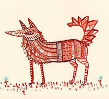 Aztec Fox by Sophie Corrigan