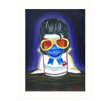 Pabst as The King Art Print