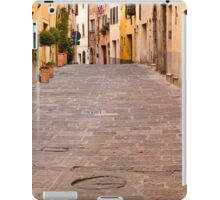 Walking Through Montepulciano iPad Case/Skin