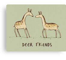 Dear Friends Canvas Print
