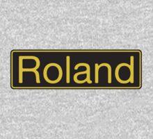 Roland Yellow Black One Piece - Long Sleeve